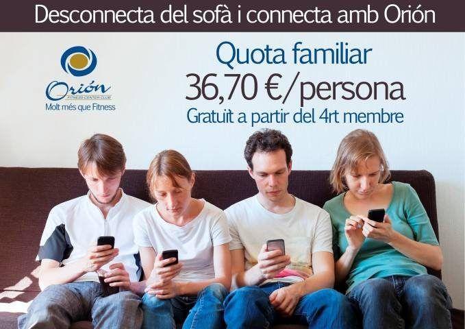 Desconnecteu del sofà i connecteu-vos a Orión!!