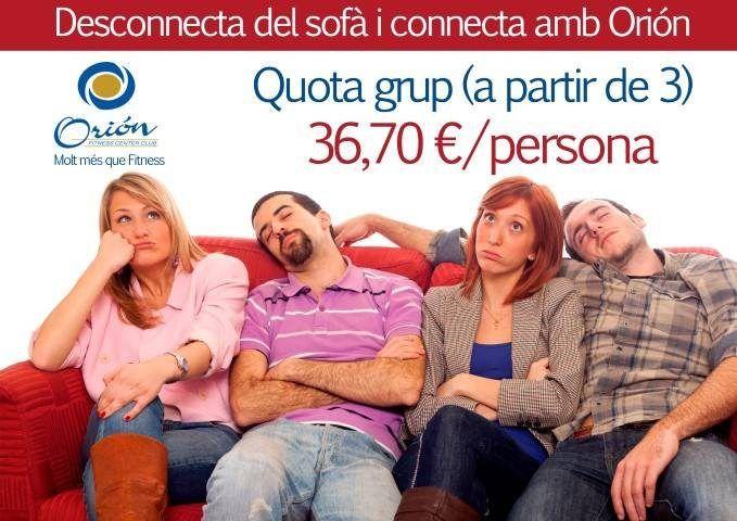 Desconnecteu del sofà i connecteu-vos a Orión !!