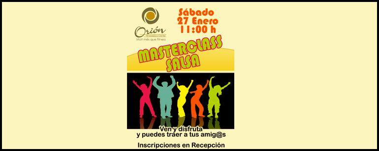 Masterclass de Salsa!!
