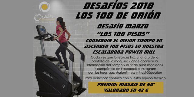 Iniciamos los Desafíos Orión: Los 100 de Orión!!