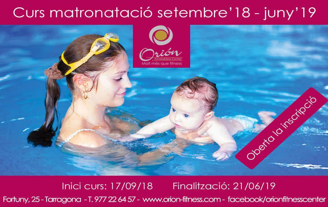 CURSOS DE MATRONATACION 18-19