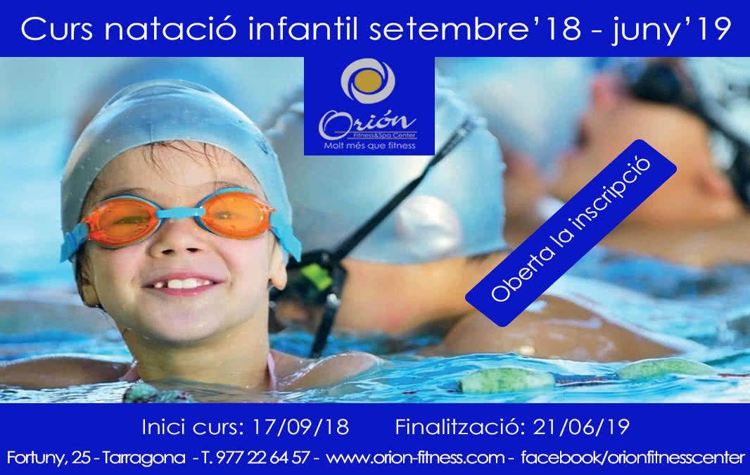 CURSO DE NATACIÓN INFANTIL 18-19