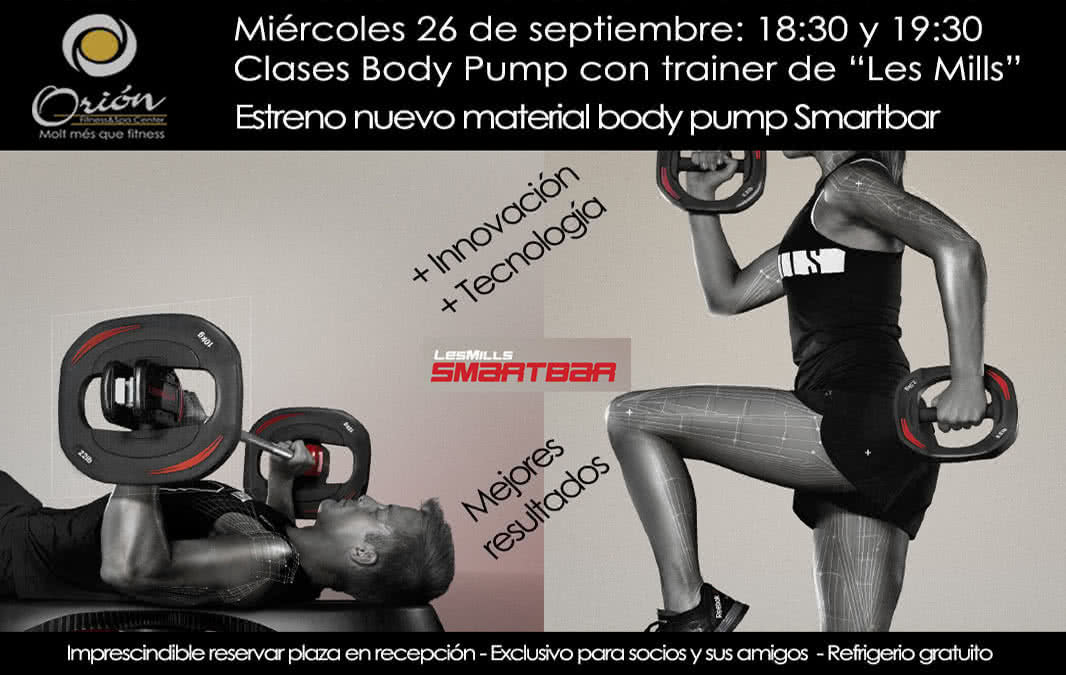 EVENTO DE BODY PUMP