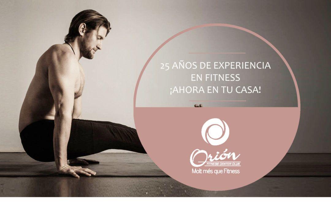 Orión Fitness, ara també a casa teva!